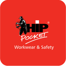 Hip pocket work wear
